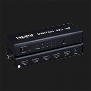 HDMI SWITCH 4*1 OUDIO  MODEL:HDSW4