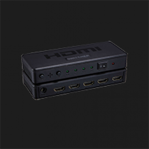Plastic HDMI switch 4x1 MODEL: HDSW4-P